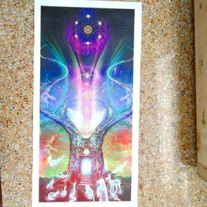 Sage Goddess printed canvas